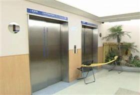 中國醫藥大學醫療大樓,電梯,墜樓,醫師。資料照