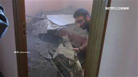 英女投宿西班牙民宿 意外遇上屋頂全塌