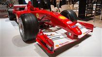 德國車神舒馬赫,Michael Schumacher,法拉利(圖/翻攝自推特)