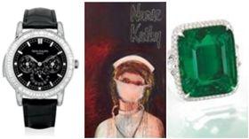 富藝斯拍賣行,祖母綠、名畫護士凱西、百達翡麗名錶。