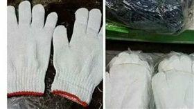 白手套,左手,右手,缺貨,爆料公社一日小編 圖/翻攝自爆料公社一日小編