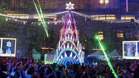 統一愛Sharing聖誕樹點燈秀 與民眾共享浪漫幸福 業配