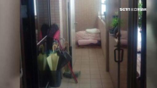 越看越心酸...窗簾隔間包水電 超狂床位租5千