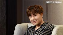 韓國男團INFINITE隊長金聖圭訪台訪問