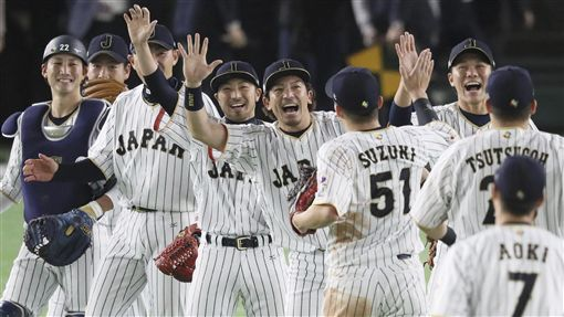 WBC日本隊。(圖/美聯社/達志影像)