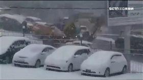 冰風暴發威! 俄馬路結冰