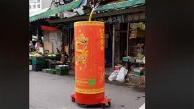 廟會,文化,傳統,習俗,科技,汙染,環保,爆笑公社 圖/翻攝自臉書爆笑公社