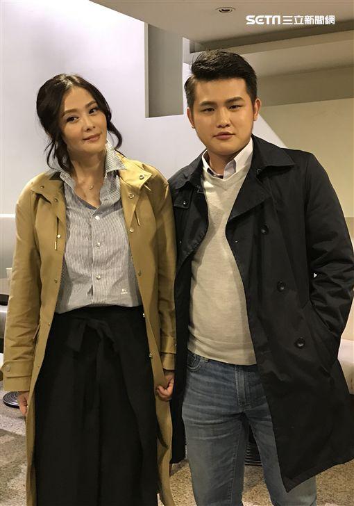 蕭淑慎,梁軒安(圖/記者黃馨慧攝影) ID-1142920