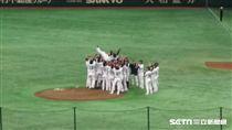 亞冠賽日本奪冠。(圖/記者蕭保祥攝)