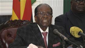 辛巴威總統,穆加比,Robert Mugabe (圖/美聯社/達志影像)