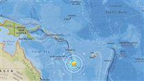 新喀里多尼亞,強震,氣象局,地震,台灣,海嘯