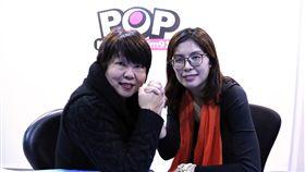 前行政院發言人鄭麗文11月20日宣布將投入台北市長選舉,電台《POP搶先爆》提供