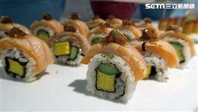 美威鮭魚。(圖/記者簡佑庭攝)