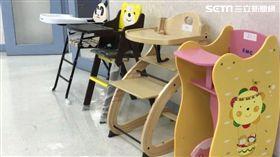 高腳椅,兒童高腳椅。(圖/消基會提供)