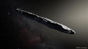 Oumuamua(圖/翻攝自nasa臉書)