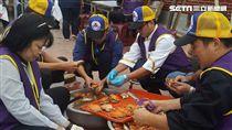 台中大安區公所「寒冬送糧、愛心圍爐宴」
