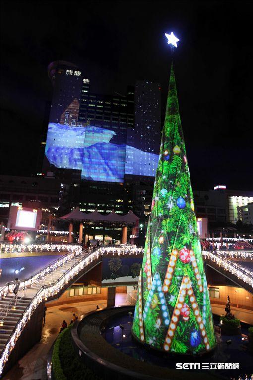 2017新北市歡樂耶誕城,聖誕節,新北耶誕城。(圖/記者簡佑庭攝)