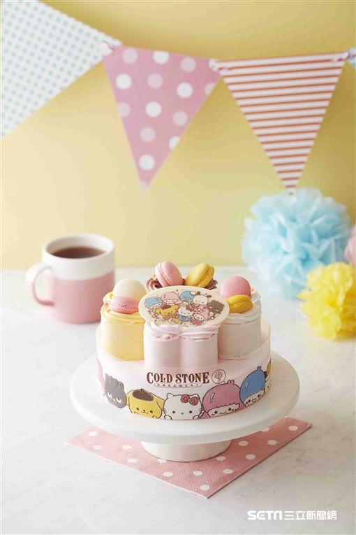 三麗鷗造型蛋糕「WEI笑精靈」。(圖/Cold Stone提供)