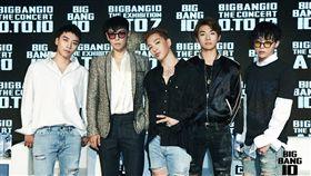 BIGBANG(圖/翻攝自BIGBANG臉書)