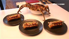 帝王蟹金箔三明治,和牛帕里尼,和牛牛肉麵,美食