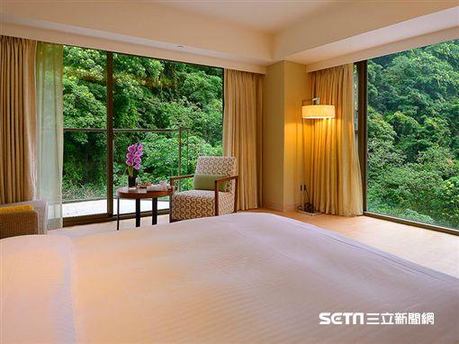 露天浴池,泡湯,知本金聯世紀酒店,精緻房型。(圖/知本金聯世紀酒店提供)