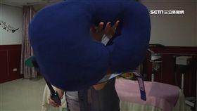五個枕頭賣6萬! 睡覺綁腳能調整脊椎!?