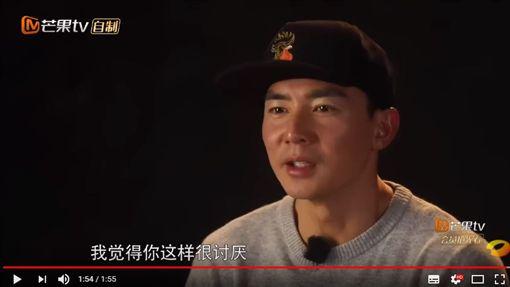 劉畊宏罕見在節目中對小泡芙發火。(圖/翻攝自YouTube)