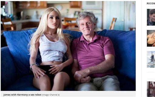 英國,小三,做愛,妻子,性愛娃娃,機器人(圖/翻攝自Mirror)http://www.mirror.co.uk/news/real-life-stories/i-sex-doll-four-times-11565682