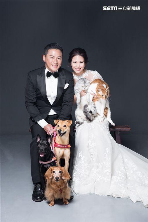 江宏恩,結婚,Vanessa,婚紗照/蘇菲雅婚紗提供