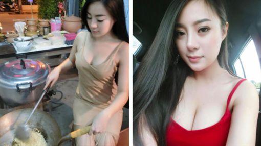 泰國北部清萊金三角一名小吃店老闆娘「Rot Jib」(圖/翻攝自Rot Jib臉書)