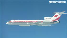 中共電軍機 Tu-154 國防部提供