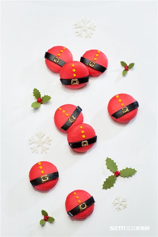 聖誕節造型甜點。(圖/台北君悅提供)