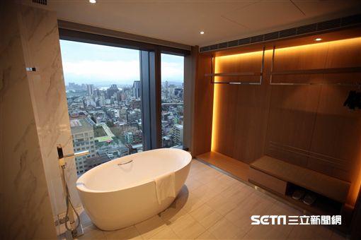 台北凱達大飯店,客房,萬華飯店。(圖/記者簡佑庭攝)