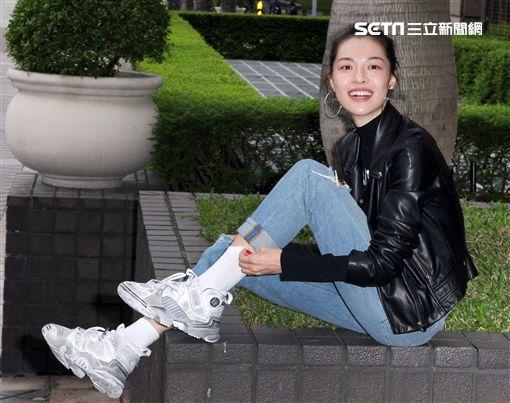 金馬獎入圍最佳新演員鍾楚曦。(記者邱榮吉/攝影)