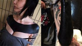 刺青,Brutal Black project,紀念,記事,Frankie,酷刑,藝術家,痕跡,時尚,流行 圖/翻攝自Brutal Black project 臉書 https://goo.gl/nGegVZ
