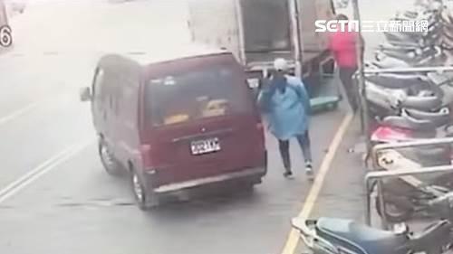 新竹合作金庫搶案 嫌犯潘建源先行搶一輛廂型車