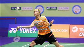 戴資穎第3度搶進香港公開賽決賽(1)世界羽球球后戴資穎(圖)25日在香港公開賽女單4強戰,以2比1擊敗南韓好手成池鉉,生涯第3度闖進香港公開賽決賽。(badminton photo提供)中央社記者龍柏安傳真 106年11月25日
