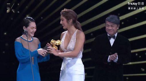 金馬54頒獎典禮,瑞瑪席丹(圖/翻攝自friDay影音)