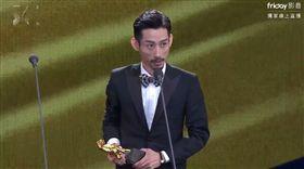 金馬54頒獎典禮陳竹昇,阿莉芙,男配角(圖/翻攝自friDay影音)