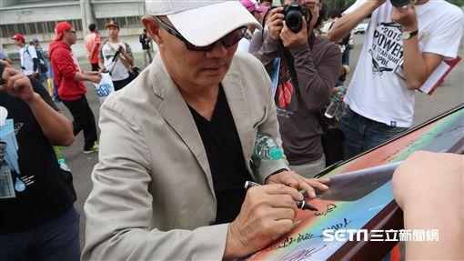 味全龍球星出席徐生明盃簽名會。(圖/記者王怡翔攝)