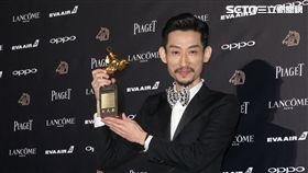 金馬54/典禮/最佳男配角:陳竹昇《阿莉芙》。(圖/記者邱榮吉攝影)