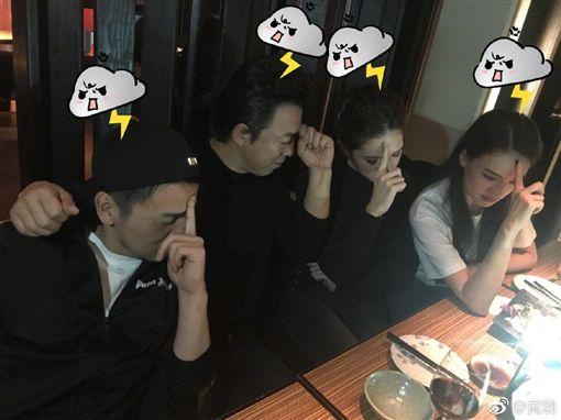 黃渤 舒淇 許瑋甯 雷佳音 /翻攝自臉書