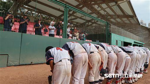 日本東京中野少棒隊來台參賽。(圖/記者王怡翔攝)