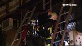 萬華公寓火警 住戶冒險攀三層梯脫困,台北,萬華,康定路,火警,變電箱 d萬華火警救2400