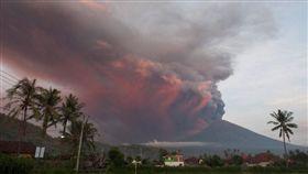 峇里島,印度,阿貢火山/翻攝推特