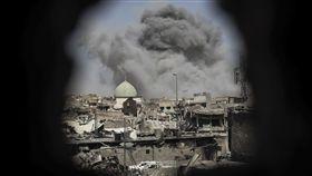 -Nuri mosque-努爾大清真寺-ISIS據點-圖/美聯社/達志影像