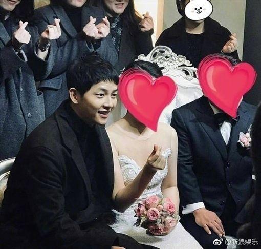 宋仲基,婚後照/翻攝自微博