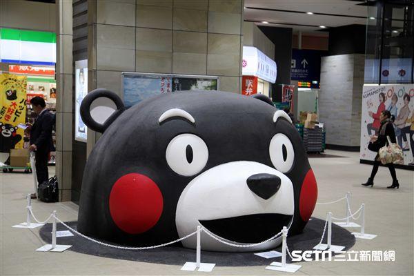 日本九州觀光列車,熊本。(圖/記者簡佑庭攝)
