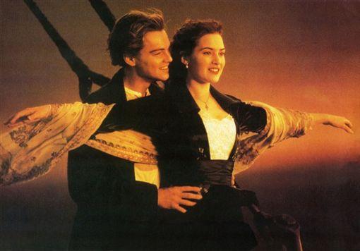 鐵達尼號,傑克,蘿絲(翻攝自網路)