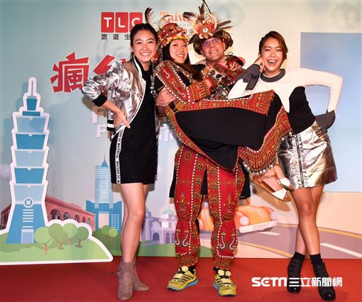 TLC瘋台灣首遊。(圖/TLC提供)